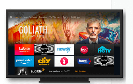 picture of amazon television channels and display network