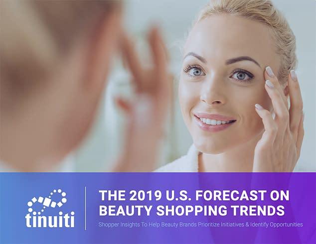 2019 us beauty shopper study survey cover