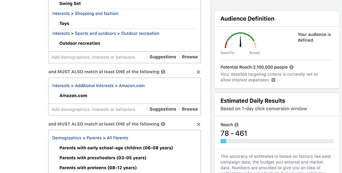 acebook-ads-manager-for-amazon-product testing