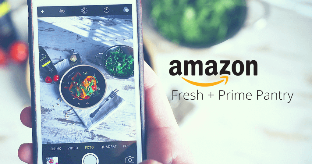 amazon fresh and prime pantry