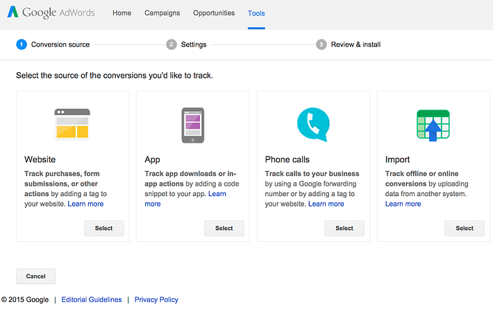 adwords offline conversion tracking