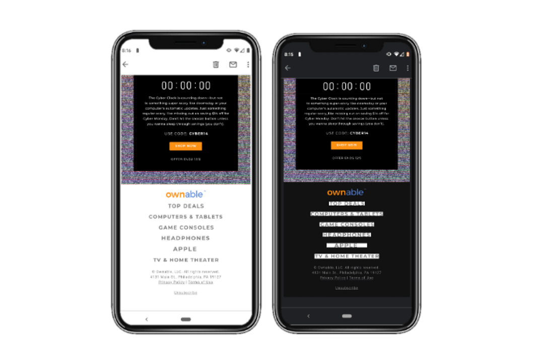 Designing Emails For Dark Mode: What You Need to Know