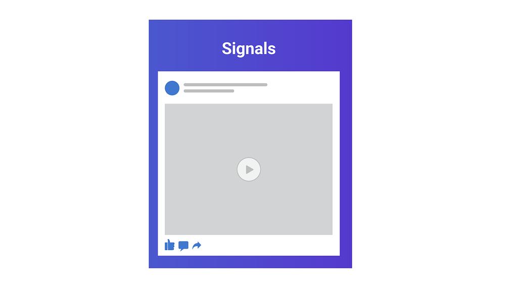 fatores do algoritmo do facebook sinais