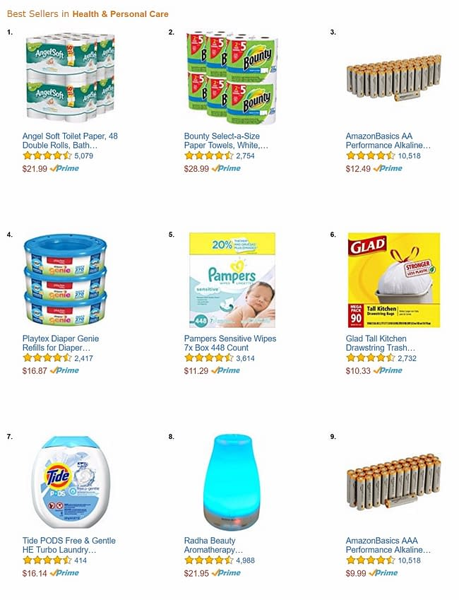 amazon-health-and-personal-care-best-sellers