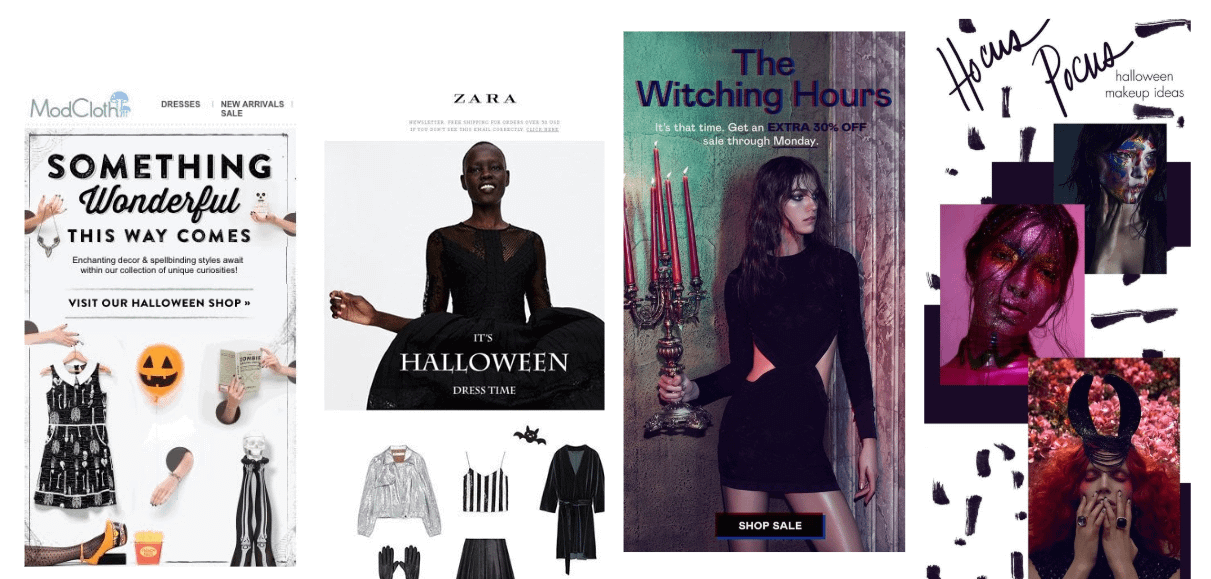 halloween email promotions