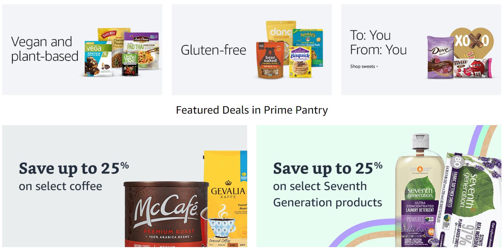 amazon prime pantry amazon grocery