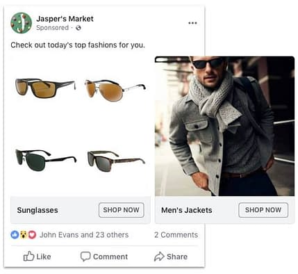 categories for dynamic ads cpc strategy blog sunglasses jaspers market