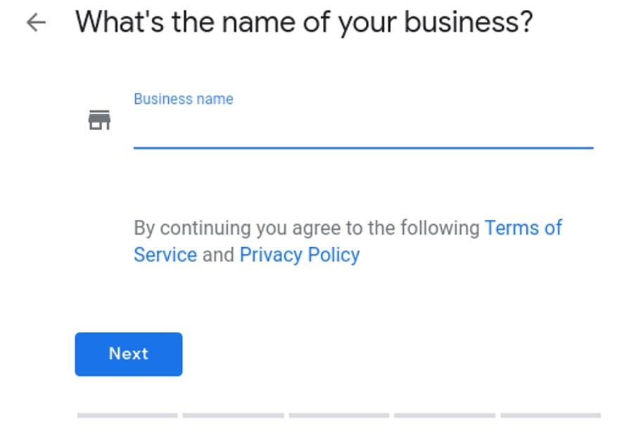 настройка Google My Business