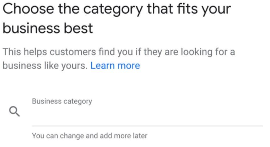 настройка моего бизнеса в Google