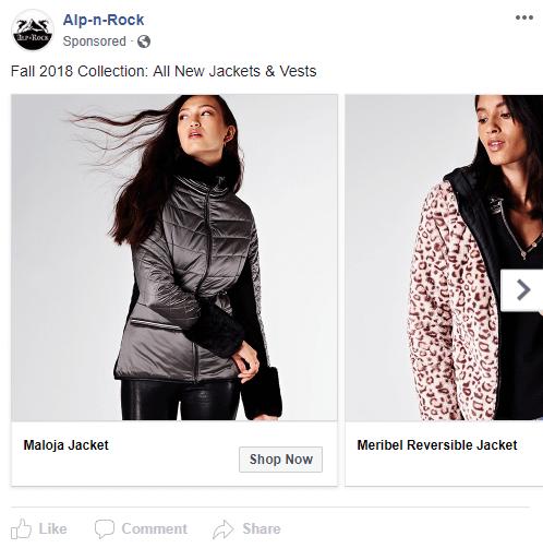 alp n rock collection facebook ad