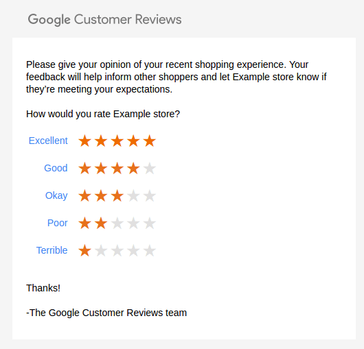google-customer-reviews-survey
