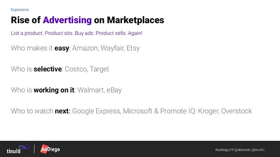 rise of marketplace advertising