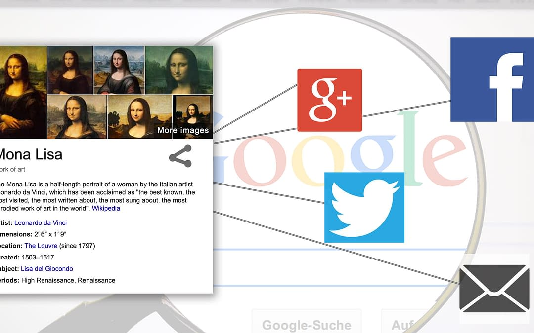 Google Adds Share Button to All Knowledge Graph Panels